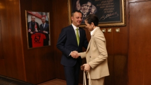BAKKA Genel Sekreter Vekili Acar'dan, Başkan Alan'a, ziyaret