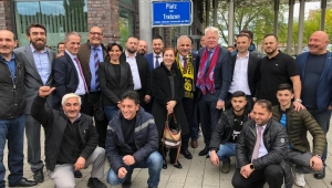 Almanya'da 'Trabzon Meydanı' Açıldı