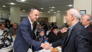 Başkan Alan, Gaziler Derneği ve Huzurevi Sakinleriyle İftar Yemeğinde Buluştu