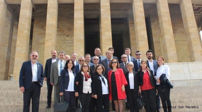 Başkan Köse ve Belediye Meclisinden Ankara Çıkarması