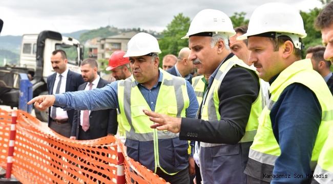 Başkan Zorluoğlu, su kesintilerinin erken biteceğini müjdeledi.