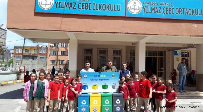 Büyükşehir, Sıfır Atık Projesini İlkokullara Anlatıyor