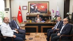 CHP Milletvekili Aksoy Başkan Köse'yi Ziyaret Etti