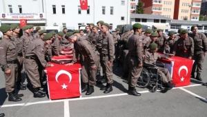 Engelli vatandaşlar Rize'de temsili askerlik yapacak