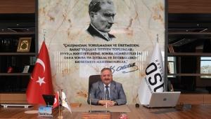 Kayseri OSB Yönetim Kurulu Başkanı Tahir Nursaçan'ın 19 Mayıs Atatürk'ü Anma, Gençlik ve Spor Bayramı Mesajı