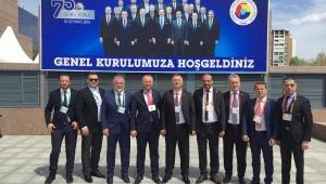 KDZ.EREĞLİ TSO, TOBB 75. GENEL KURULU'NA KATILDI.