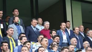 Köksal Toptan Ankaragücü - Ç.Rizespor maçını izledi