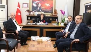 Milletvekili Baltacı'dan Başkan Köse'ye Hayırlı Olsun Ziyareti