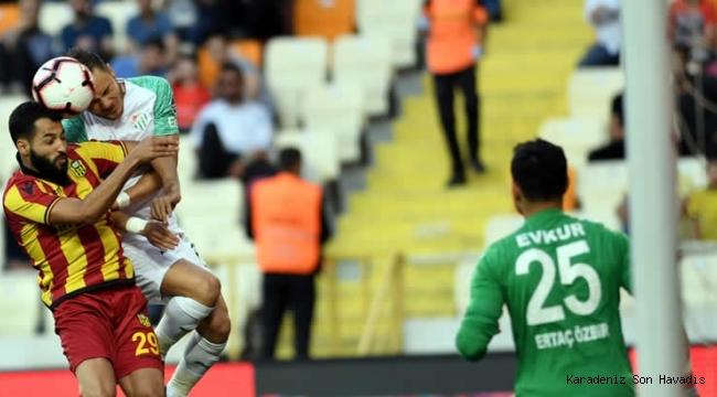 Süper Lig'den düşen 3. takım Bursaspor oldu.