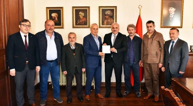 Tarihi Damaltı Derneği'nden, Başkan Zorluoğlu'na ziyaret