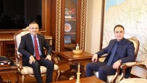 Trabzon Cumhuriyet Başsavcısından, Vali Çeber'e Ziyaret