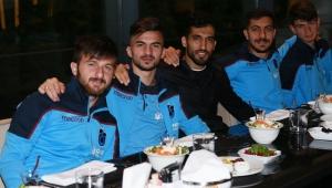 Trabzonspor iftar yemeğinde bir araya geldi