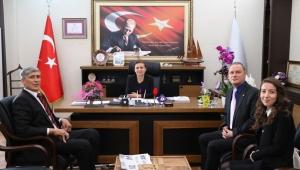 TSD Şube Başkanı Yılmaz Başkan Köse'yi Ziyaret Etti