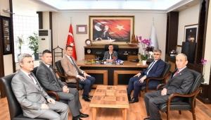 Vali Gürel'den Başkan Köse'ye Hayırlı Olsun Ziyareti
