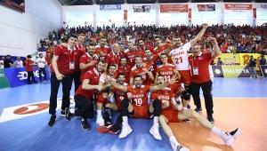 2019 CEV Voleybol Erkekler Altın Avrupa Ligi Heyecanı Trabzon'da