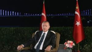Cumhurbaşkanı Erdoğan, sosyal medya ve televizyon ortak yayınına katıldı