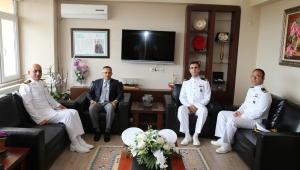Deniz Albay Bünyamin Dayıoğlu'ndan Vali Çeber'e Ziyaret