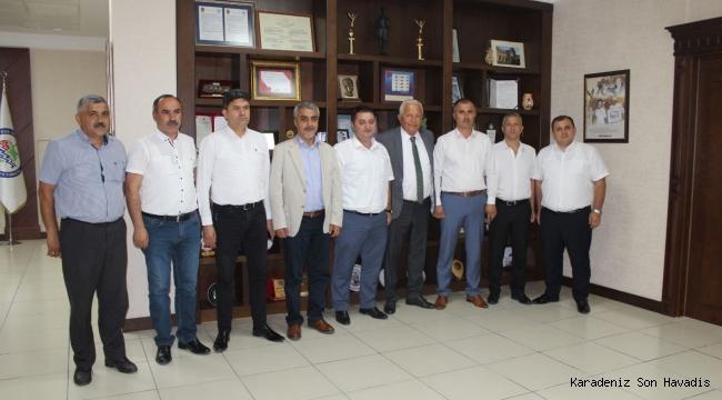 GMİS'ten Belediye Başkanlarına ziyaret