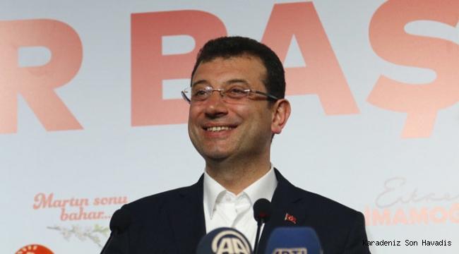 İBB Başkanlığı seçimini Ekrem İmamoğlu kazandı