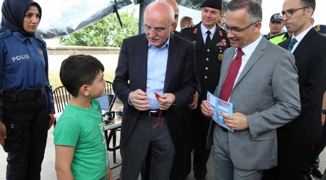 İçişleri Bakan Yardımcısı Erdil, Rize'de İncelemelerde Bulundu