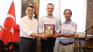 Muharip Gaziler Derneği'nden Başkan Alan'a Ziyaret