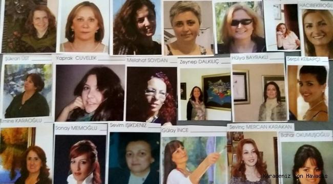 Rizeli kadın ressamlar...