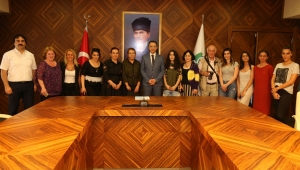 Tiflis Devlet Sanat Akademisinden Vali Vekili Ahmet Dalkıran'a Ziyaret