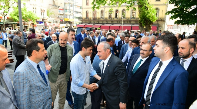 Trabzon Bayramlaştı