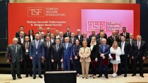 Türkiye Seramik Federasyonu 9'uncu Olağan Genel Kurulu gerçekleşti