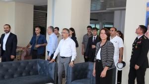 Vali Kemal Çeber, Rize Polisevi'nde İncelemelerde Bulundu