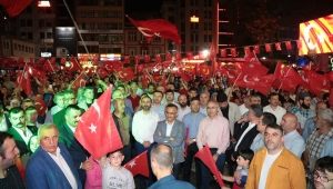 15 TEMMUZ DEMOKRASİ GÜNÜ RİZE'DE, TEK KALP, TEK GÖNÜL İÇİNDE KUTLANDI