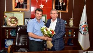 """ASKF'den, Başkan İshak Sarı'ya Ziyaret"""