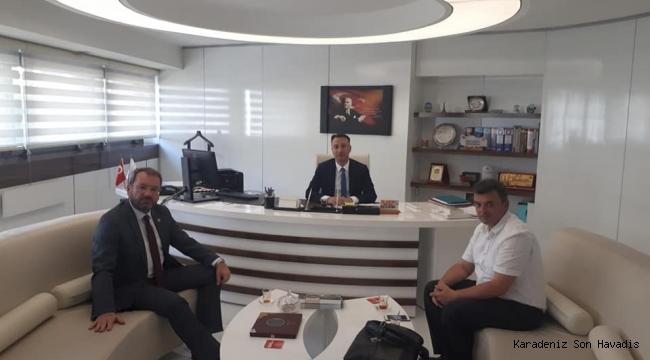 """""""Başkan Sarı Ankara'da"""""""