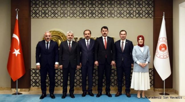 Başkan Zorluoğlu ,Ankara'da Trabzon için çalışıyor