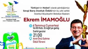 EKREM İMAMOĞLU CUMARTESİ EREĞLİ'YE GELİYOR