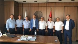 GMİS Yönetimi, Sağlık-Sen'i Ziyaret Etti
