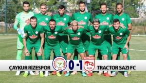 HAZIRLIK MAÇI | ÇAYKUR RİZESPOR 0-1 TRACTOR SAZI FC