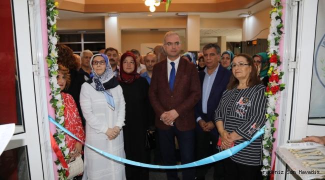 Kadın Kültür Mesleki Eğitim Merkezi Dönem Sonu Sergisi Açıldı