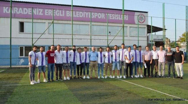 Karadeniz Ereğli Belediye Spor' da imzalar atıldı