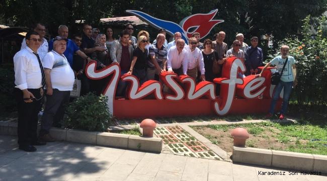 Kocaeli, Artvin, Batum Havalisi Derneklerinden Yusufeli'ne ziyaret