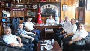 ŞERAFETTİN TURPÇU'DAN GMİS'E ZİYARET