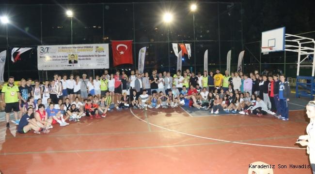 Streetball Turnuvasında, Kazananlar Ödüllerini Aldı
