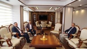 Türkiye Belediyeler Birliğinden Vali Çeber'e Ziyaret