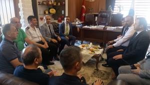 Vali Çeber, İyidere Belediyesini Ziyaret Etti