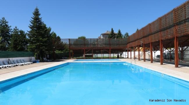 Yüzme Havuzu Hizmete Giriyor