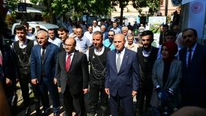 Bakan Mehmet Cahit Turhan Trabzon'da