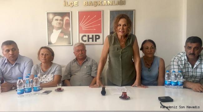 CHP Başkan adayı Neriman Posbıyık'ın Basın Açıklaması