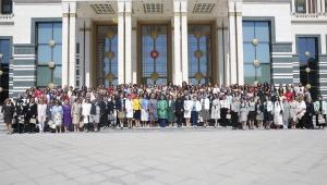 Emine Erdoğan, kadın büyükelçilere ve büyükelçi eşlerine öğle yemeği verdi