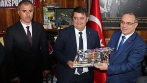 ENERJİ BAKAN YARDIMCISI KALAYCI, GMİS'İ ZİYARET ETTİ
