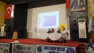 Madenlerin insan ve çevreye etkileri konferansı düzenlendi